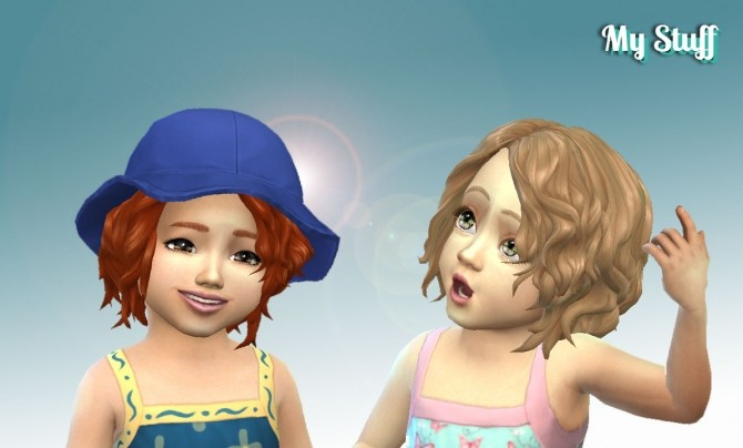 Delirious Hair for Toddlers at My Stuff image 7814 670x404 Sims 4 Updates