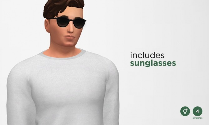 Eyecandy Glasses at Moon image 791 670x402 Sims 4 Updates