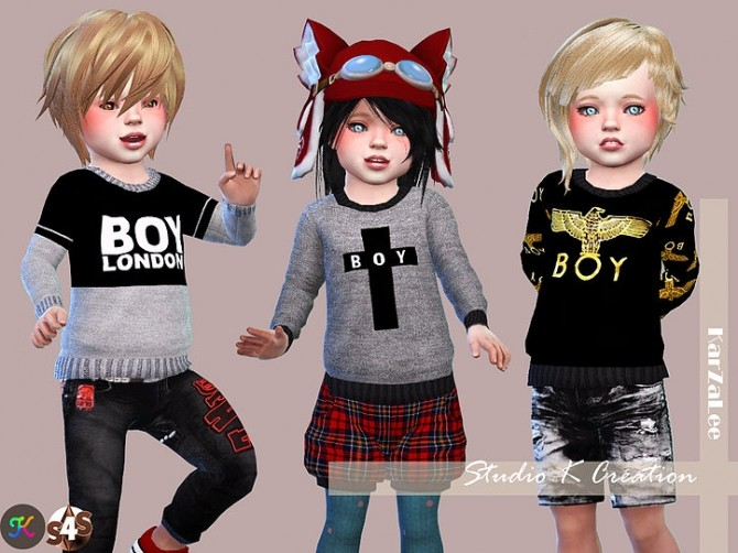 Sims 4 Sweat for toddler at Studio K Creation