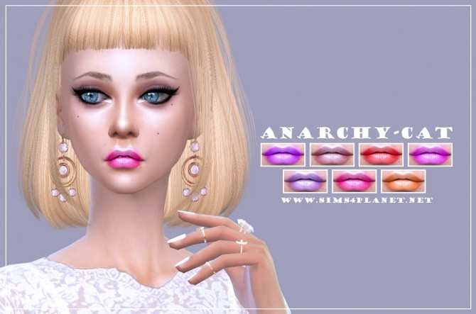 Lips #6 at Anarchy Cat image 816 670x443 Sims 4 Updates