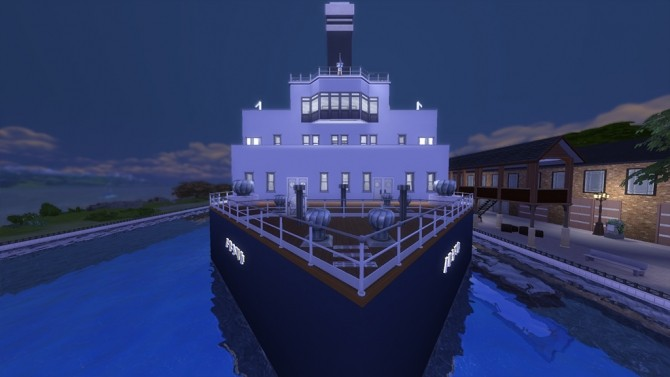 Rms Titanic No Cc By Yourjinthemiddle At Mod The Sims
