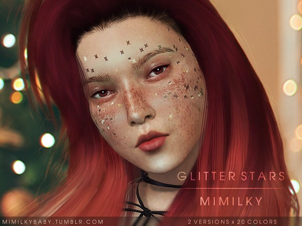 Glitter Stars by Mimilky at TSR image 83 Sims 4 Updates
