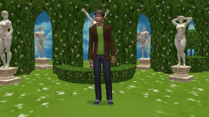Secret Garden (CAS Room Override) by BigUglyHag at SimsWorkshop image 8315 670x377 Sims 4 Updates