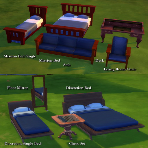 Woodworking Custom Furniture 1 by Leniad at Mod The Sims image 832 Sims 4 Updates
