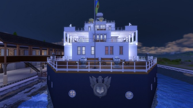 RMS Titanic (no cc) by yourjinthemiddle at Mod The Sims image 835 670x377 Sims 4 Updates