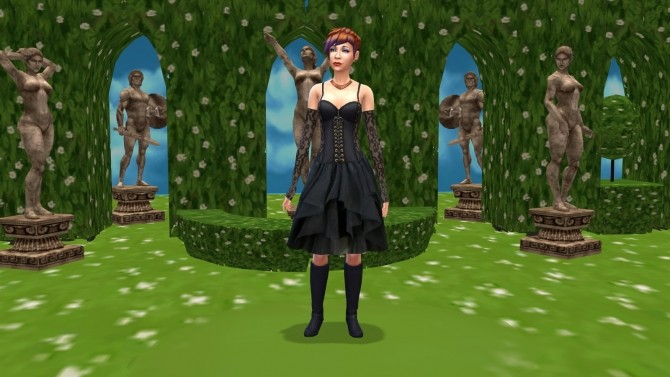 Secret Garden (CAS Room Override) by BigUglyHag at SimsWorkshop image 8415 670x377 Sims 4 Updates