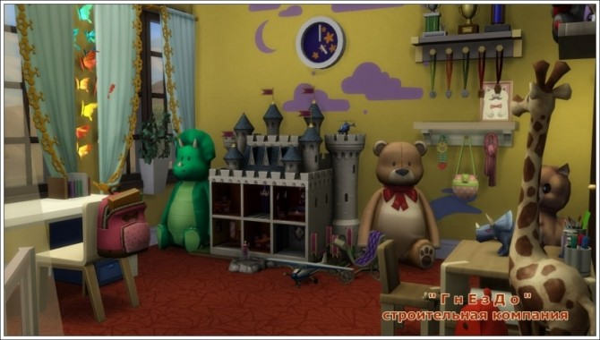 Sims 4 Dream nursery 02 at Sims by Mulena