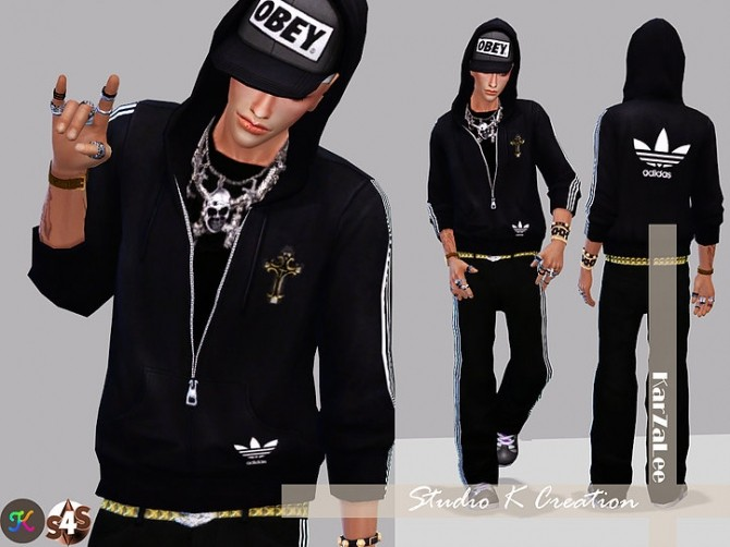 Hip Hop Hoodies at Studio K Creation image 855 670x502 Sims 4 Updates