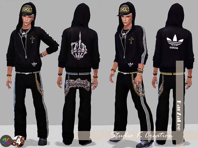 Hip Hop Hoodies at Studio K Creation image 865 670x502 Sims 4 Updates