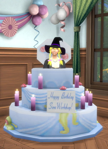How To Make A Birthday Cake On Sims