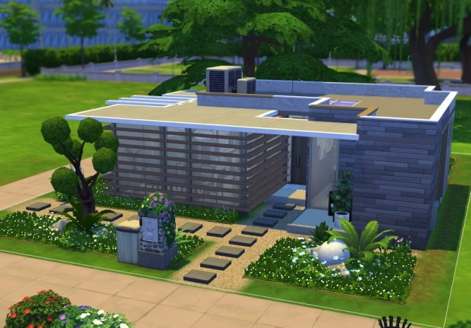Sims 4 Smallowl Alone house by Kiroh at Mod The Sims