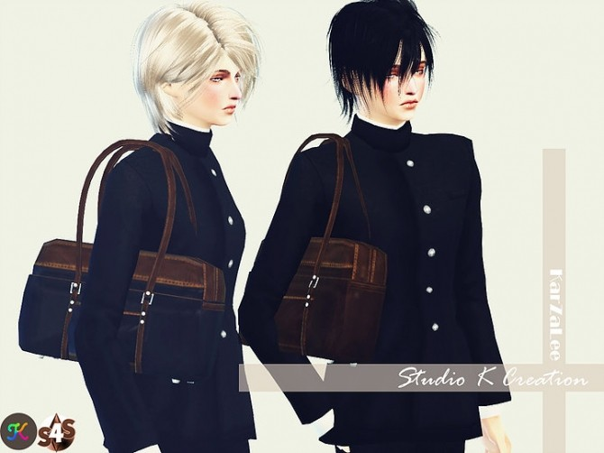 School bag shoulder version at Studio K Creation image 875 670x502 Sims 4 Updates