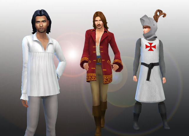 Sims 4 Male Medieval Pack (Pay) at My Stuff