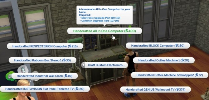 Electronics Build Table by Leniad at SimsWorkshop image 9211 670x320 Sims 4 Updates