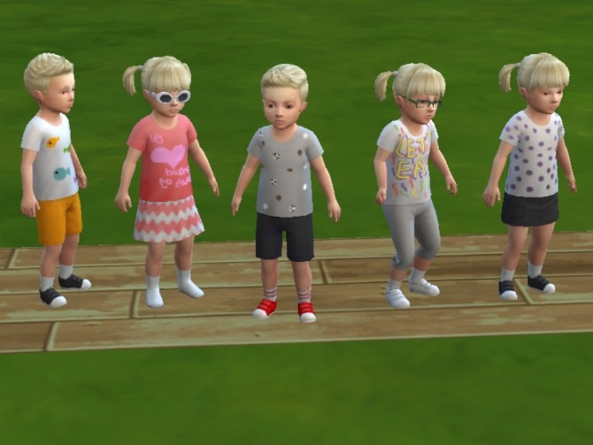 5 toddler t shirt recolors by sarah31537 at Mod The Sims image 925 670x503 Sims 4 Updates