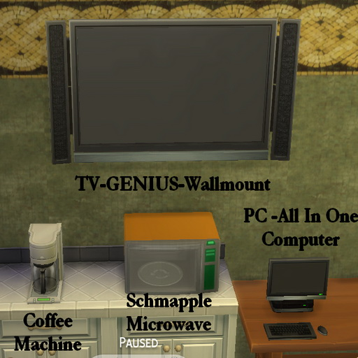 Sims 4 Building Custom Electronics 2 by Leniad at SimsWorkshop
