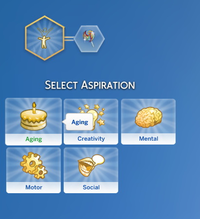 Sims 4 Grow Up Aspiration (TS2 TS4) by jackboog21 at Mod The Sims