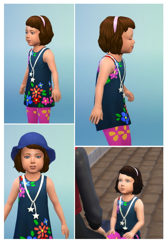 Sims 4 Toddler Hair with Band at Birksches Sims Blog