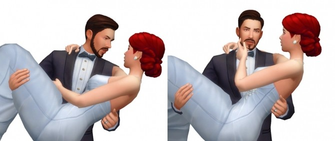 Couple Poses #09 at Rinvalee image 964 670x283 Sims 4 Updates