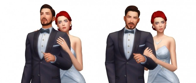 Couple Poses #09 at Rinvalee image 974 670x283 Sims 4 Updates