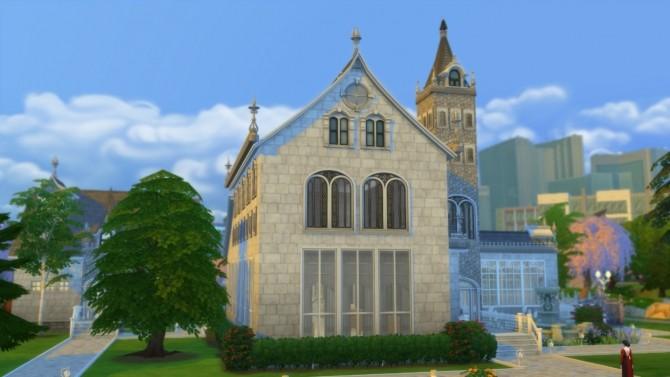 Sims 4 Pleasant View Church DV by Christine11778 at Mod The Sims