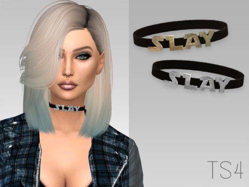 Slay Choker at Arthurlumierecc – AL image 995 Sims 4 Updates