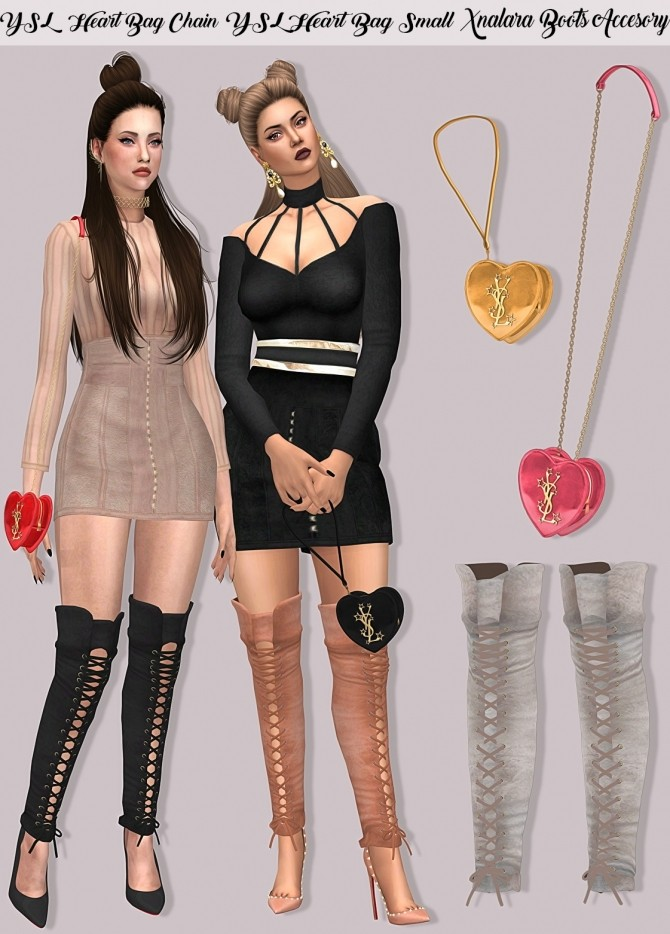 Sims 4 Valentines day set at Lumy Sims