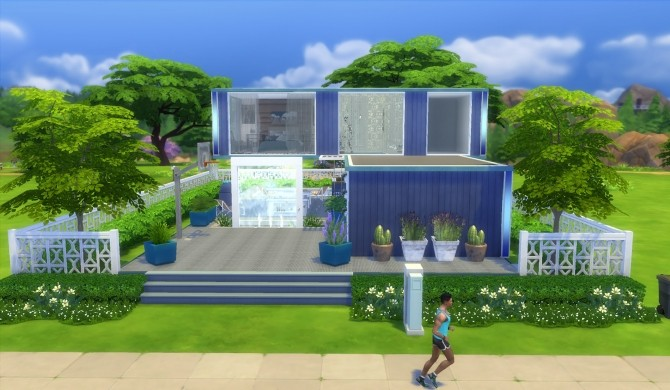 Two containers house by patty3060 at Mod The Sims image 10112 670x390 Sims 4 Updates
