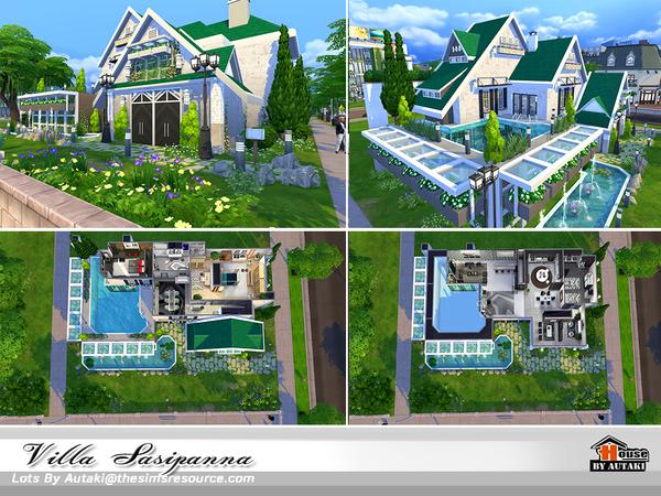 Villa Sasipanna by autaki at TSR image 10117 Sims 4 Updates