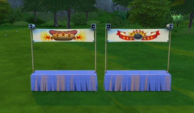 Eating Contest Stand by DogsikSueno at Mod The Sims image 1012 670x390 Sims 4 Updates