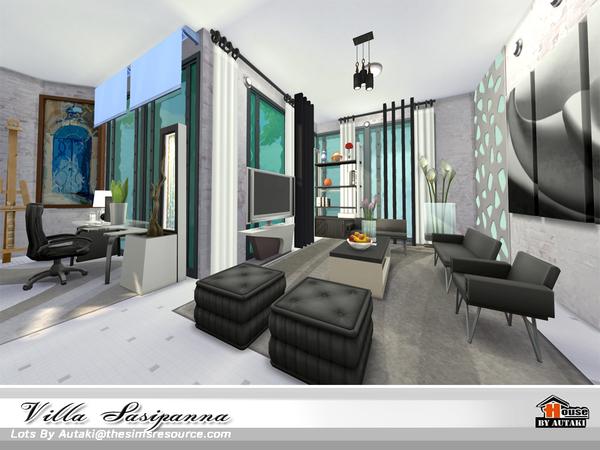 Villa Sasipanna by autaki at TSR image 10214 Sims 4 Updates