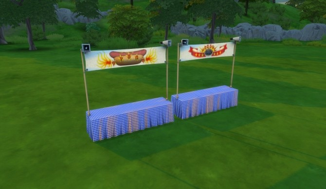 Eating Contest Stand by DogsikSueno at Mod The Sims image 1022 670x390 Sims 4 Updates