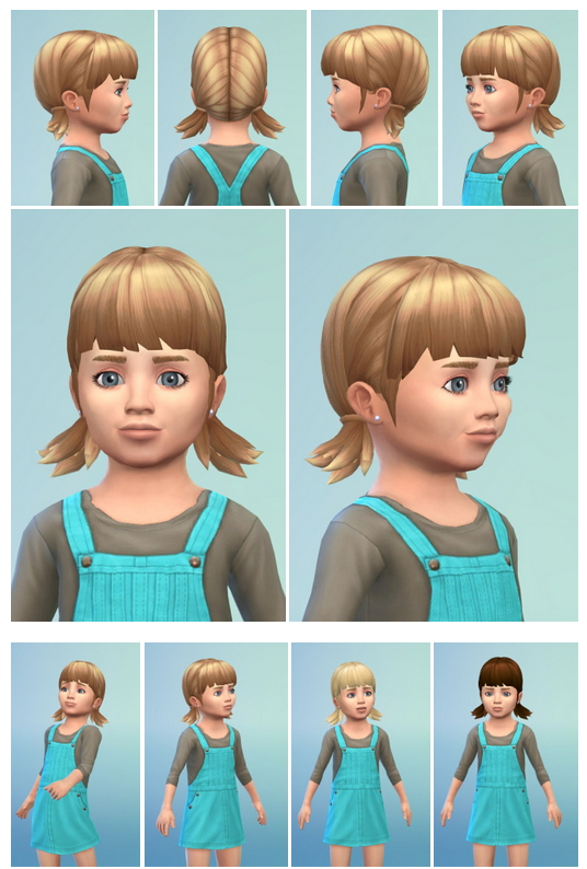 PigsyBaby Hair at Birksches Sims Blog image 1031 Sims 4 Updates