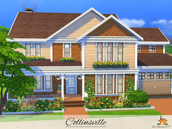 Collinsville house by sharon337 at tsr sims 4 updates for Home design resources