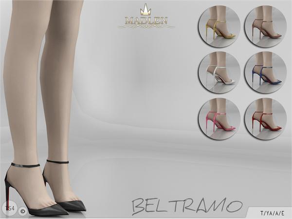 Sims 4 Madlen Beltramo Shoes by MJ95 at TSR