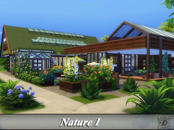 Sims 4 Nature I house by Danuta720 at TSR