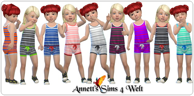 Toddler Bodysuits at Annett's Sims 4 Welt image 1119 Sims 4 Updates