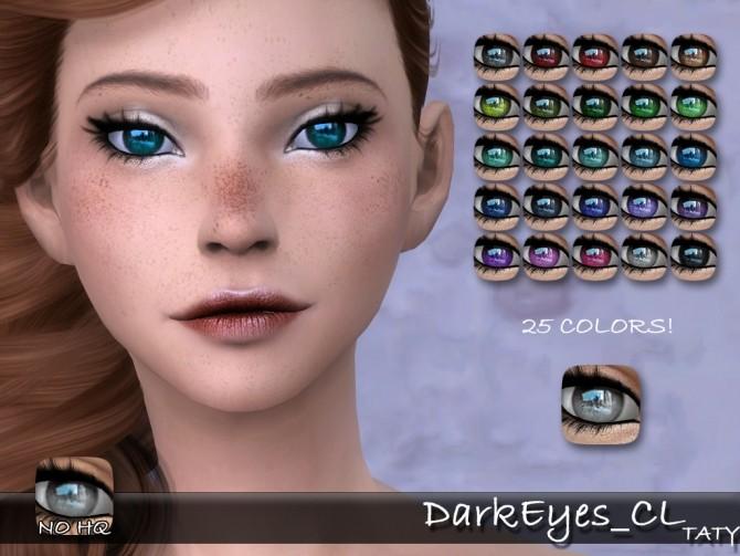 Sims 4 Dark Eyes CL by Taty86 at SimsWorkshop