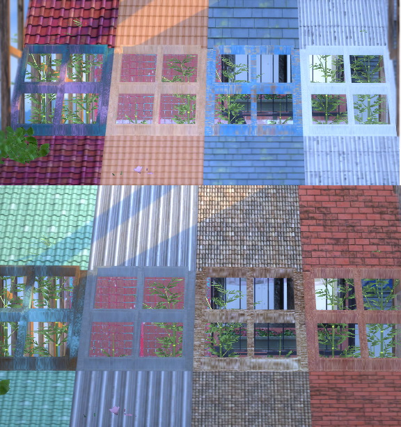 Sims 4 Roof Decor Recolors at YUMIA'S PLACE