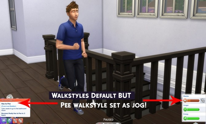 Walkstyles Override 2.0 by Simstopics at SimsWorkshop image 1163 670x404 Sims 4 Updates