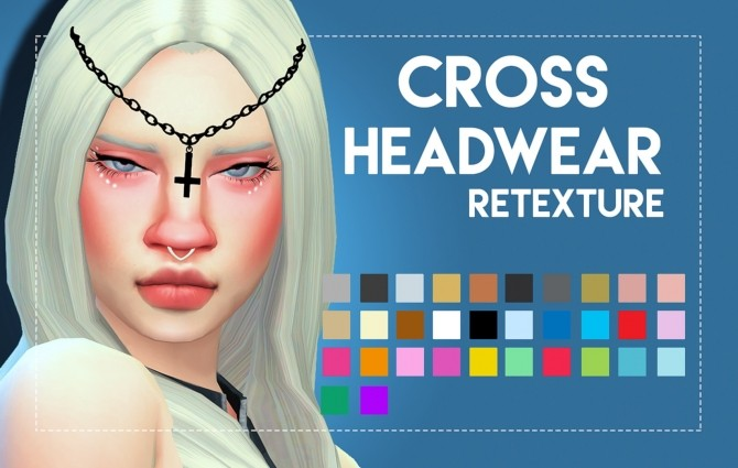 Cross Headwear Maxis Matched by Weepingsimmer at SimsWorkshop image 117 670x425 Sims 4 Updates