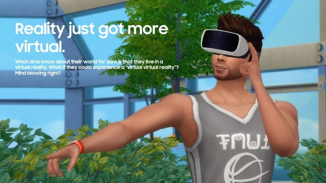 Gear VR 2015 by littledica at Mod The Sims image 1172 670x377 Sims 4 Updates