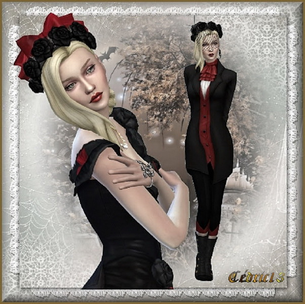 Anne Gothica at L'univers de Nicole image 11813 Sims 4 Updates
