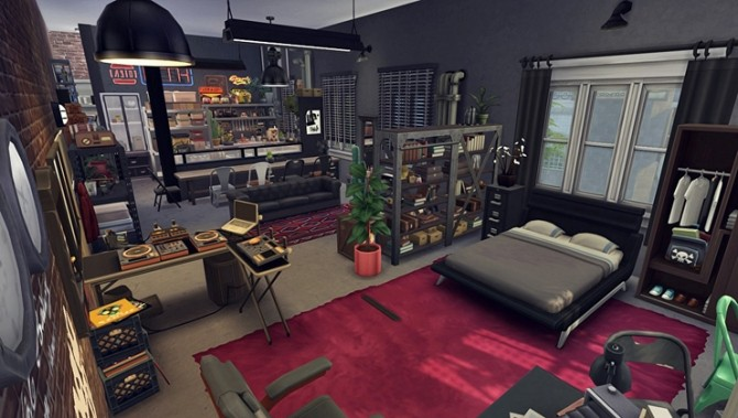 Apartment R003 by Bangsain at My Sims House image 12110 670x379 Sims 4 Updates