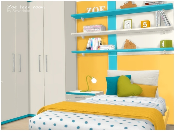 Zoe teen room furniture by Severinka at TSR image 12215 Sims 4 Updates