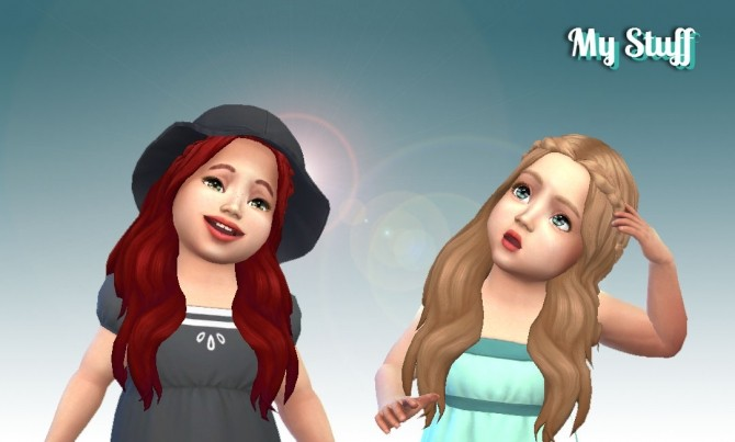 Sensitive Hair for Toddlers at My Stuff Sims 4 Updates