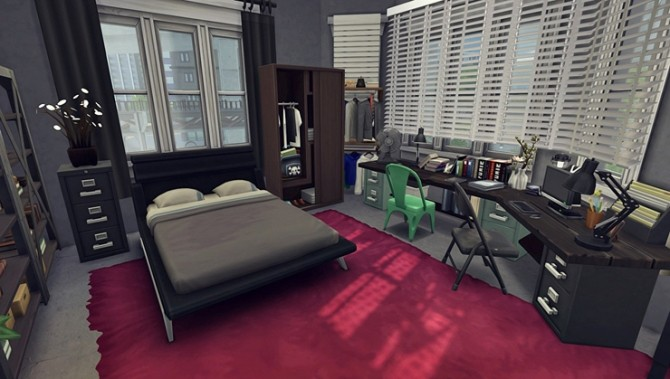 Apartment R003 by Bangsain at My Sims House image 1226 670x379 Sims 4 Updates