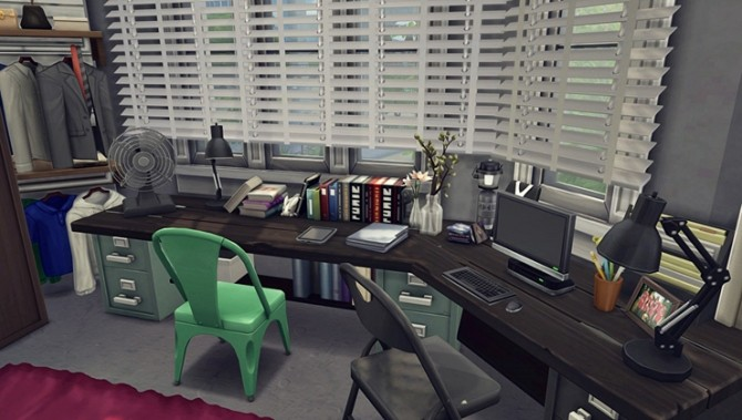 Apartment R003 by Bangsain at My Sims House image 1235 670x379 Sims 4 Updates
