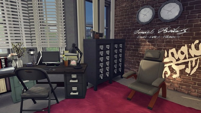 Apartment R003 by Bangsain at My Sims House image 1244 670x379 Sims 4 Updates