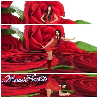 Roses CAS Background at MausiHasi88 image 1246 Sims 4 Updates